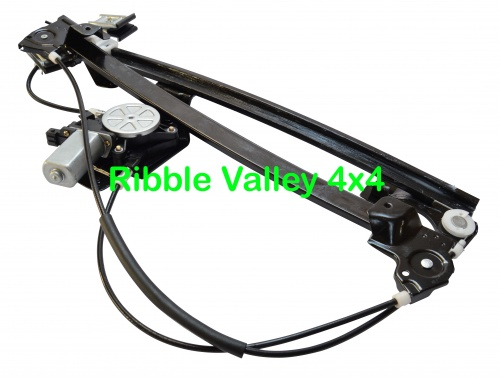 Front N/S window regulator and motor - LR006372 multi buy special offer
