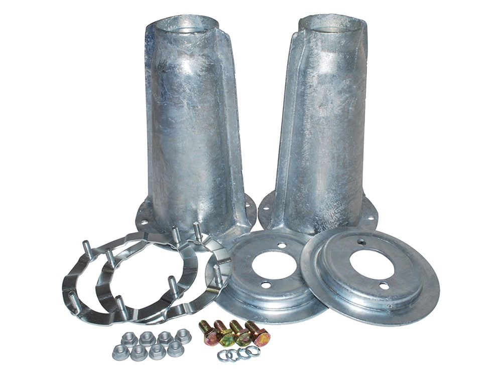 Da1186 Galv Front Turret Fitting Kit Land Rover Parts