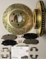 DISCOVERY 3 2.7 FRONT BRAKE DISC KIT